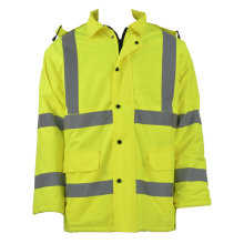 Best Quality for Winter Work Jacket Winter Rain Jackets with Reflective strap export to Puerto Rico Suppliers