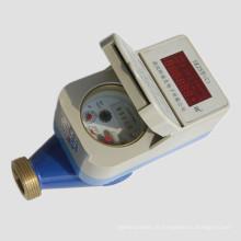 Mètre d'eau électromagnétique potable à piles