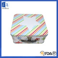 Hot sale Christmas metal packaging can tin box