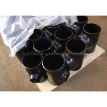 Encaixe de tubulação do aço carbono do Tee reto do desenho frio