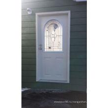 Фанда Мета филенчатые стальные двери, оформленные с toughened стеклом