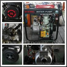 """2 """"Diesel Wasserpumpe mit Easy Key Start"""