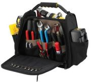 Electrical Folding Polyester Tool Bag With Embroider Logo / Multiple Pocket