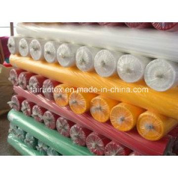 Тафта 100% полиэстер 190t с пухонепроницаемый для швейной подкладочной ткани