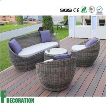 Водоустойчивый напольный деревянный пластичный decking смеси WPC настил для украшения сада
