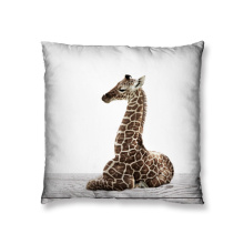 Baby giraffe design cushion