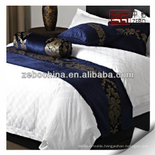 Supply various design bed runner for hotel