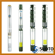 Bomba sumergible de perforación de hierro fundido (QJ)