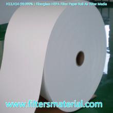 Papier filtracyjny HEPA z włókna szklanego