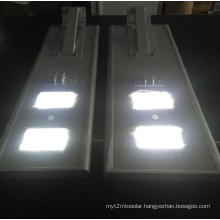 Integrated Solar LED Street Light with Lithium