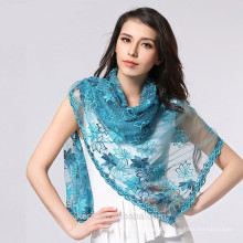 Chiffon silk scarf 2015 scarf female summer and autumn all-match scarf long design air conditioning cape silk scarves shawl