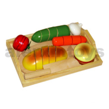 Wooden Cutting Food Toy
