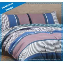 Patchwork Patterns bedruckte Polyester Bettbezug Set