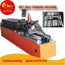 Grande vitesse automatique Stud et piste roulent formant la Machine