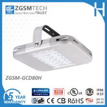 Lumière haute Lumens LED haute baie 80W avec gradation 1-10V