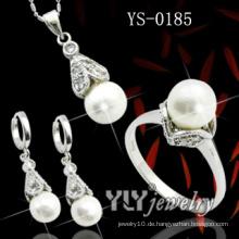 Art und Weise 925 silbernes Perlen-Schmucksache-Satz (YS-0185)
