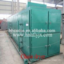 China Hutai Marca contínua trabalhando secador de sementes de óleo / Secador de roupa / secador de placa Plana para a secagem de sementes oleaginosas