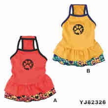 Dog Dress Patterns, Fabric for Pet Clothes (YJ82321)