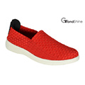 Women Casual Sports Knitting Weave Shoes