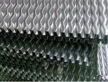 Αλουμινίου ψυγείου πτερύγια - μεγάλο γήπεδο κυματοειδές Fin για θεριζοαλωνιστική μηχανή