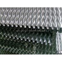 Aleta ondulada de paso grande para intercambiador de calor de cosechadora