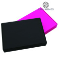 High end black shipping box for clothes