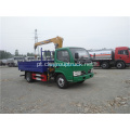 CLW small 4x2 truck truck crane