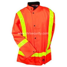 Hi Vis Waterproof Flame Resistant Safety Suit