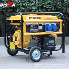 BISON CHINA TaiZhou 192F Engine gasoline generator 10 hp petrol generator 7kva ASTRA Gasoline Generator for home use with CE