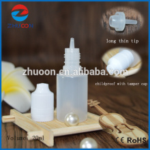 Hot Sale small plastic bottle for E liquid with Childproof and Tamper