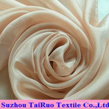 Chiffon de crepe de estiramento pesado usado em vestidos de noite
