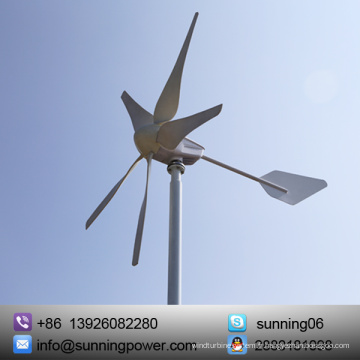 Système d'alimentation électrique d'opérateur de télécom de l'énergie solaire de vent de Sunning 400W 12V / 24V