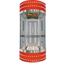 Ascenseur de sécurité en Chine Ascenseur en verre pour centre commercial