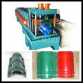 Colored Steel Profile Galvanized Cap Making Machine