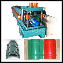 Farbige Stahlprofil-galvanisierte Kappe, die Maschine herstellt
