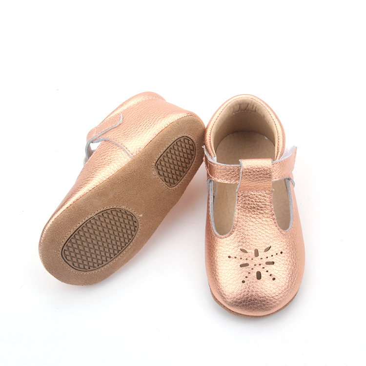 anti slip soft sole baby dress shoes