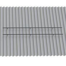 Système de montage solaire pour toiture en tuiles d'amiante