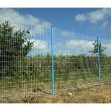 Welded Wire Mesh in Eurfence with PVC Coated