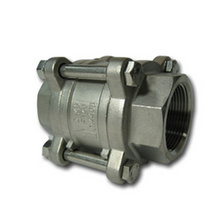 3-Piece Check Valve Threaded End