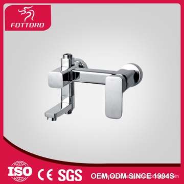 Hot Sales brass chrome bathroom wall mounted faucet MK11207