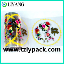 Chinese Happy, Heat Transfer Film for Plastic, Gold