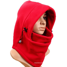 6 in1 balaclava hood face fleece neckwarmer