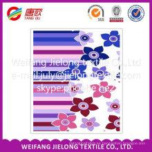 tela de algodón para la impresión por sublimación en Shandong 100 Tela de algodón para la sábana de algodón barato tela de algodón