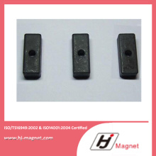 China Factory Strong Customized Ferrite Motor Magnet