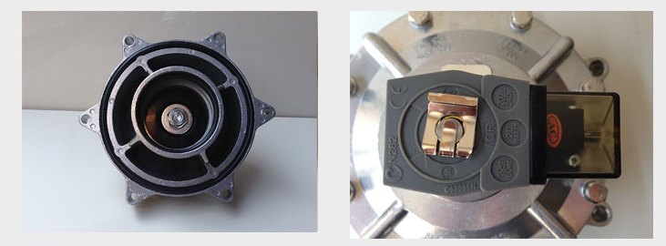 Detailed pictures of G2'' Inch Threaded Connection Dedusting pneumatic pulse solenoid valves