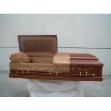 American-Style Wooden Casket Gwf01-02