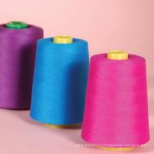 100% Fils de couture de polyester grossistes