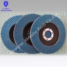 T27 Zirconia Alumina vsm Flap Disc with blue abrasive