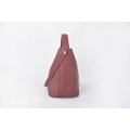 Minimalistische reine Farben-weibliche Mode-Eimer-Drawstring-Tasche