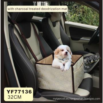 Tapa de asiento de coche de mascota, accesorios de mascotas (yf77136)